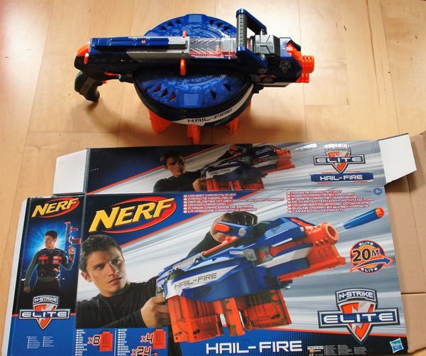 Hasbro Nerf N-Strike Elite HAIL-FIRE
