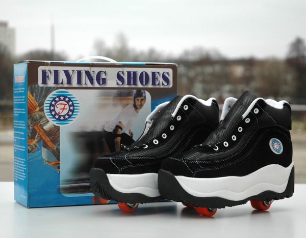 Roller Skates Flying Shoes, Neu, Größe 37