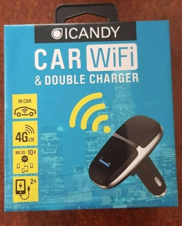 Car WiFi ICandy double charger für 10 Personen Neu