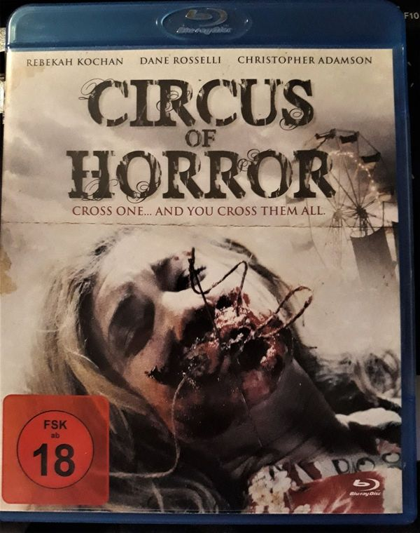 CIRCUS OF HORROR BLUERAY