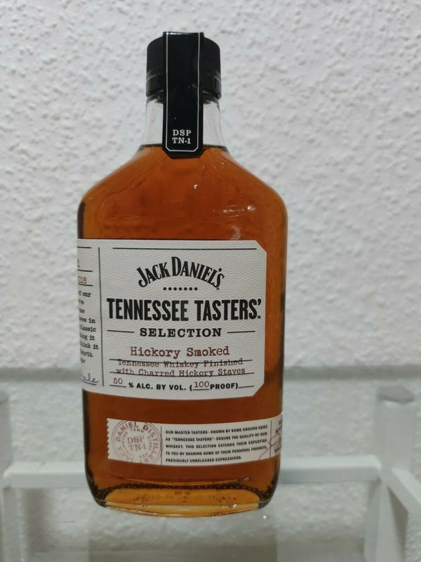 RARE JACK DANIELS TENNESSEE TASTERS HICKORY SMOKED - 375 ml - new and sealed