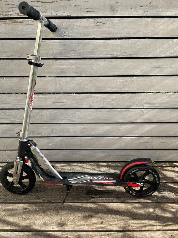 Roller Hudora Big Wheel, schwarz-rot