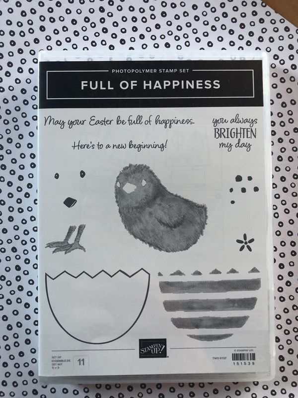 Stampin'Up Ostern Full of Happines