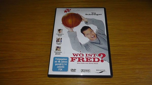 Wo ist Fred? DVD
