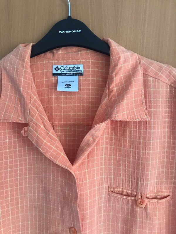Bluse orange von Columbia