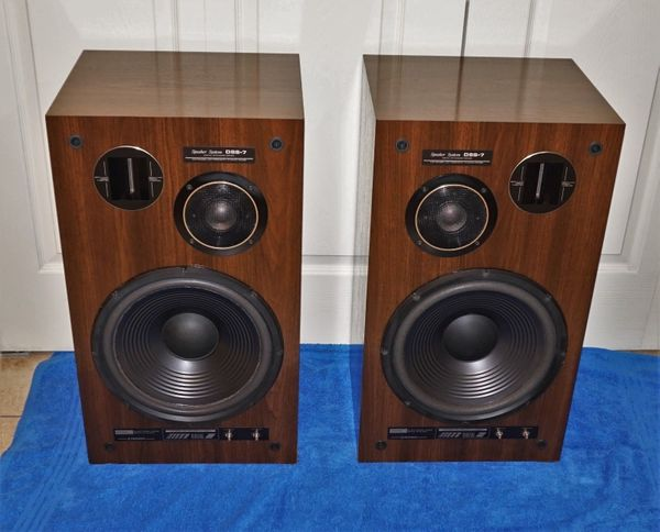 Vintage Pioneer DSS-7 Stand Hi-Fi Tower Home Audiophile Lautsprecher