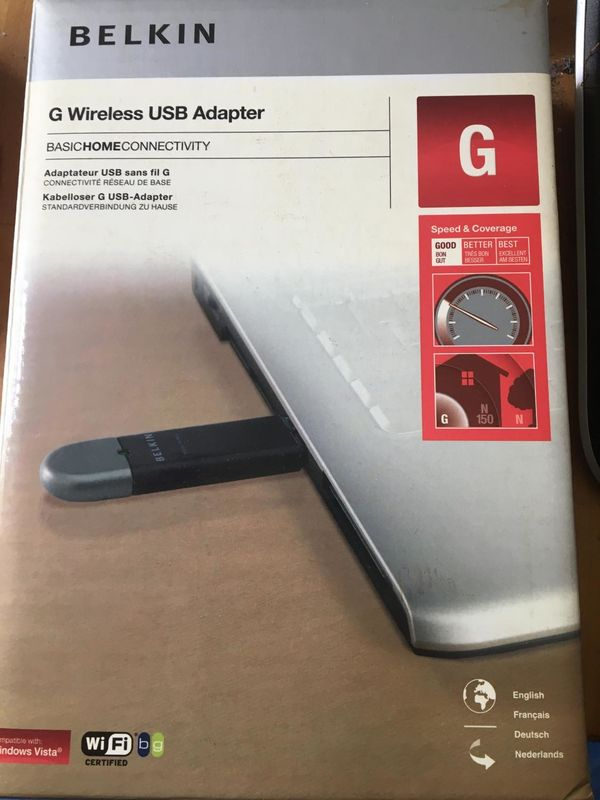 Belkin G WLAN USB Adapter