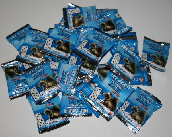 Domino-Spielsteine - Ice Age 4 - orginalverpackt - REAL-Aktion