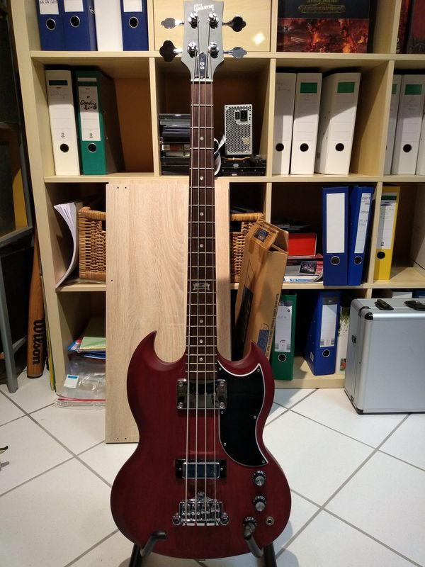 Gibson SG Bass 120th Anniversary