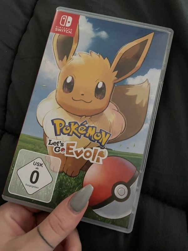 Nintendo Switch - Pokemon Lets Go Evoli - Spiel inkl OVP